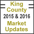 King County Market Updates 2015 & 2016