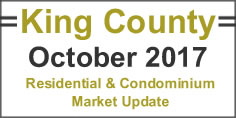 October 2017 King county washington real estate update